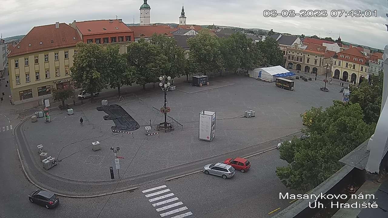Kamera na żywo - Uherske Hradiste